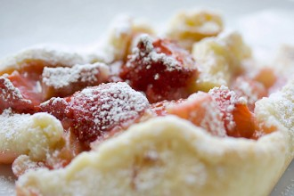 Rustic Strawberry Rhubarb Tart
