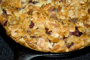 Cherry Almond Clafouti