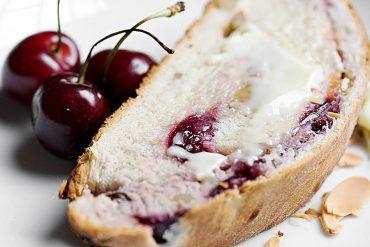 Fresh Sweet Cherry Yeast Bread