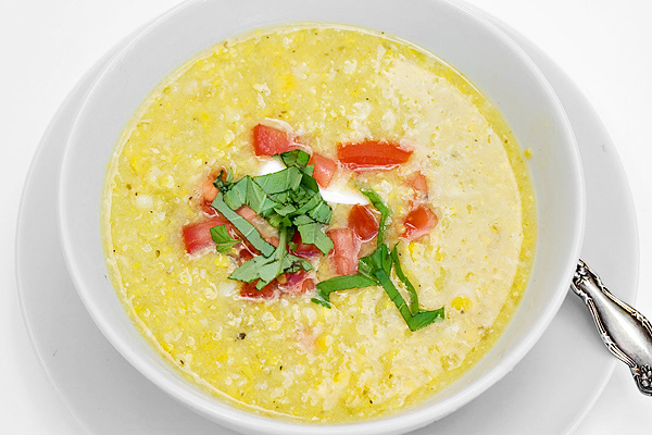 Summer Corn Soup