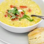summer corn soup