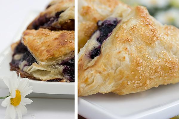 Blueberry Vanilla Cream Cheese Turnovers