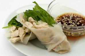 Thai Chicken Summer Roll