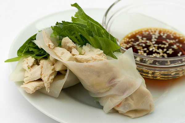 Thai Chicken Summer Roll