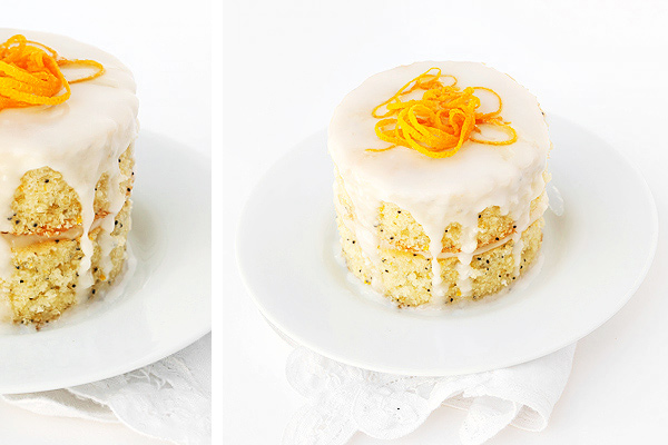 Citrus Poppy Seed Cake with Cream Cheese Frosting