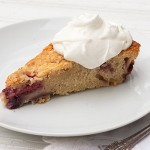 Rustic Strawberry Shortcake cake