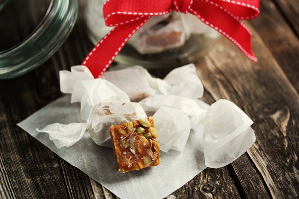 Salted Pumpkin Caramels - Seasons and Suppers