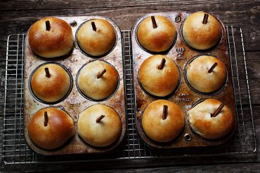 Apple Filled Apple Buns