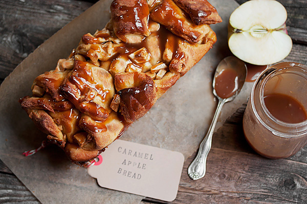 Chopped Caramel Apple Bread