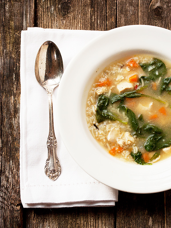 30-Minute Chicken and Rice Soup