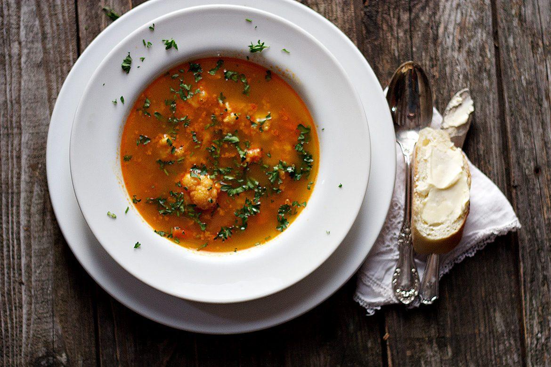 Hungarian Paprika Soup