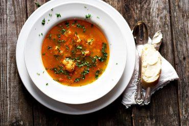 Hungarian Paprika Cauliflower Soup