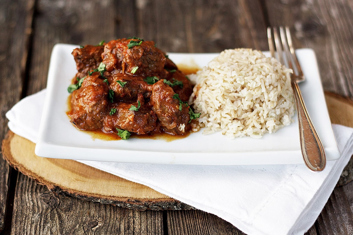 Warm Spiced Beef Curry And Rice Seasons And Suppers