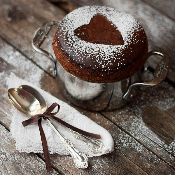 "An easy chocolate souffle recipe, perfect for ""chocolate souffle for ..."
