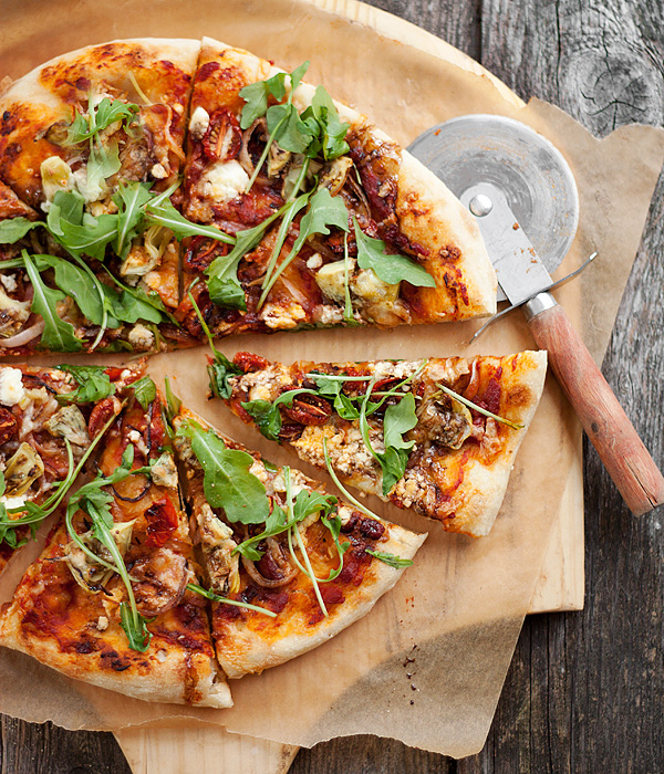 Veg Out Pizza | Seasons and Suppers