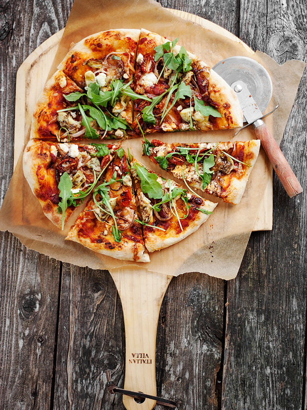 Roasted Vegetable Pizza | Seasons and Suppers