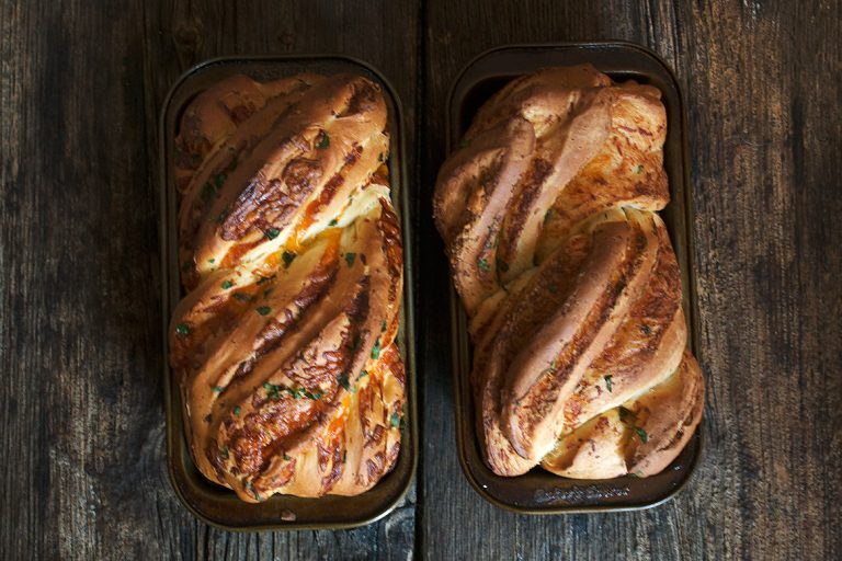 Homemade Cheese Bread: Two Ways
