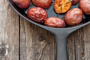 Crispy Skillet Rosemary Potatoes