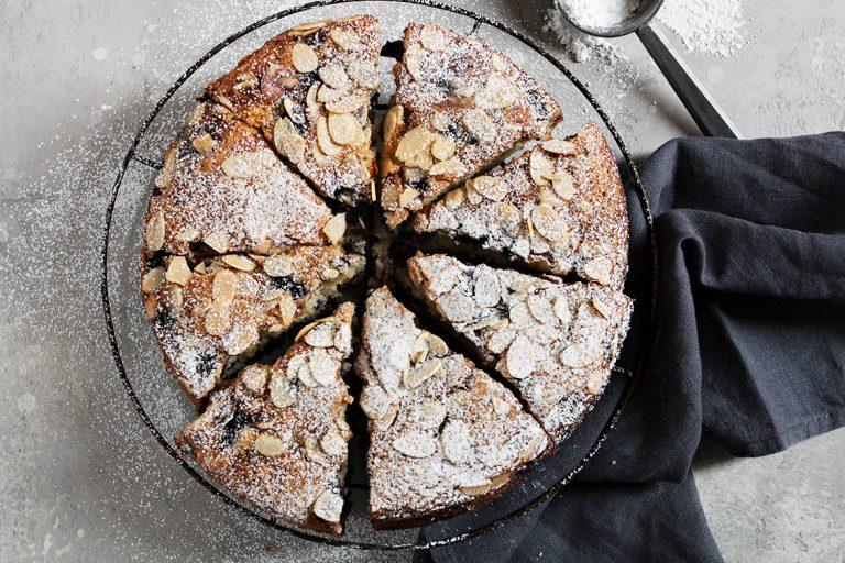 Buttermilk Blueberry Muffin Cake