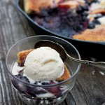 Summer Fruit Skillet Cobbler