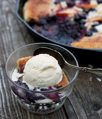 Summer Fruit Cobbler