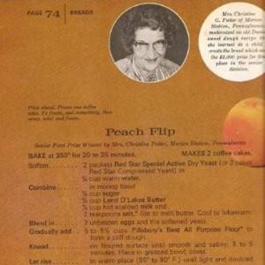 Peach Flip Scan