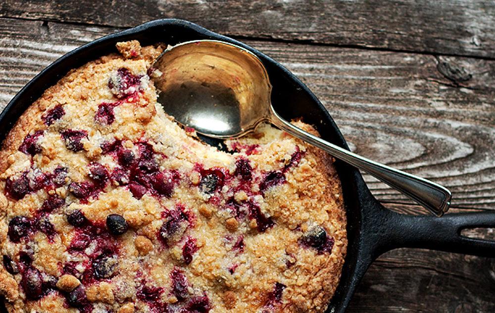 skillet cranberry cake
