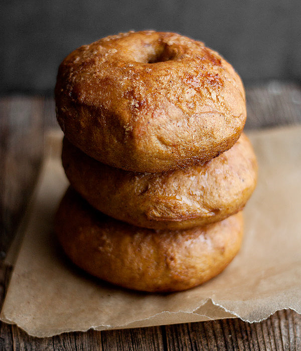 Pumpkin Pie Bagels