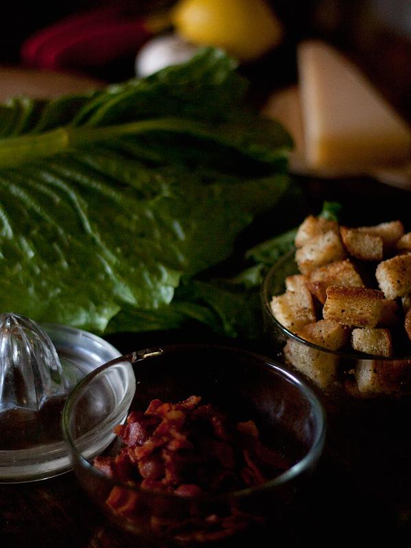 Favourite Caesar Salad Ingredients