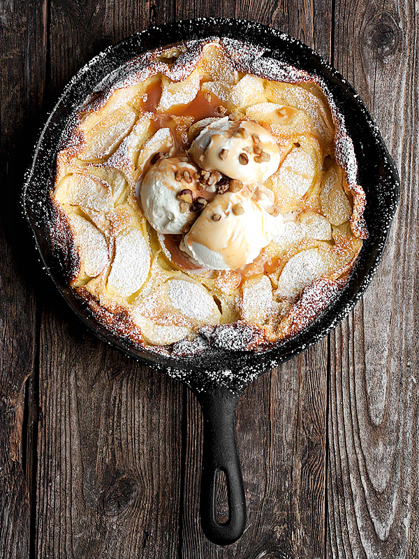 Caramel Apple Dutch Baby