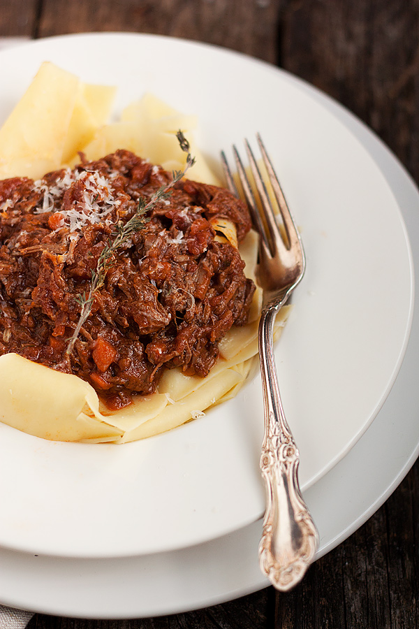 how to cook ground beef for pasta sauce