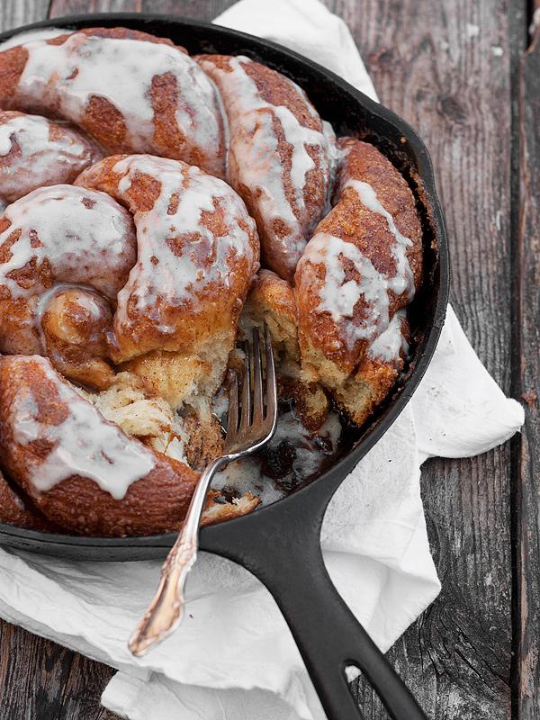 Cinnamon Crunch Skillet Bread