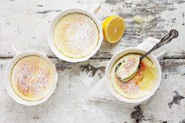 Warm Lemon Pudding Cake
