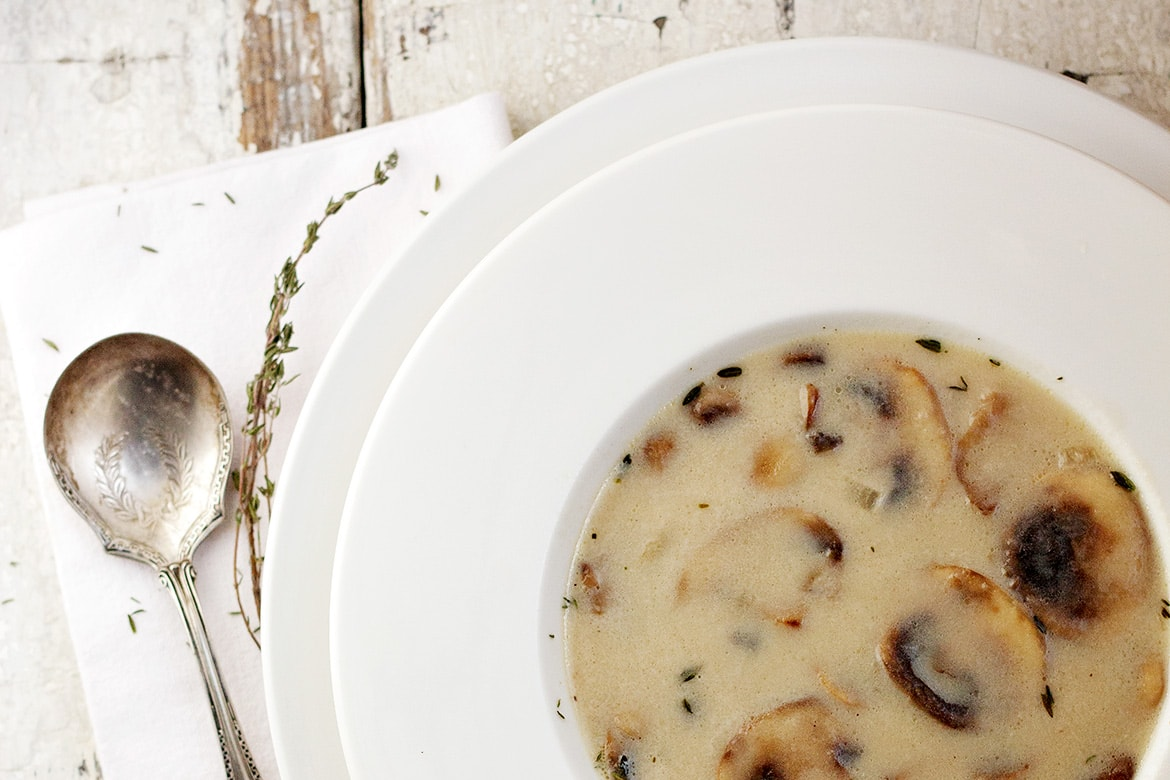 3 ways to cook a delicious mushroom soup