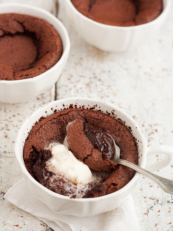 Hot Chocolate Pudding Cake - Seasons and Suppers