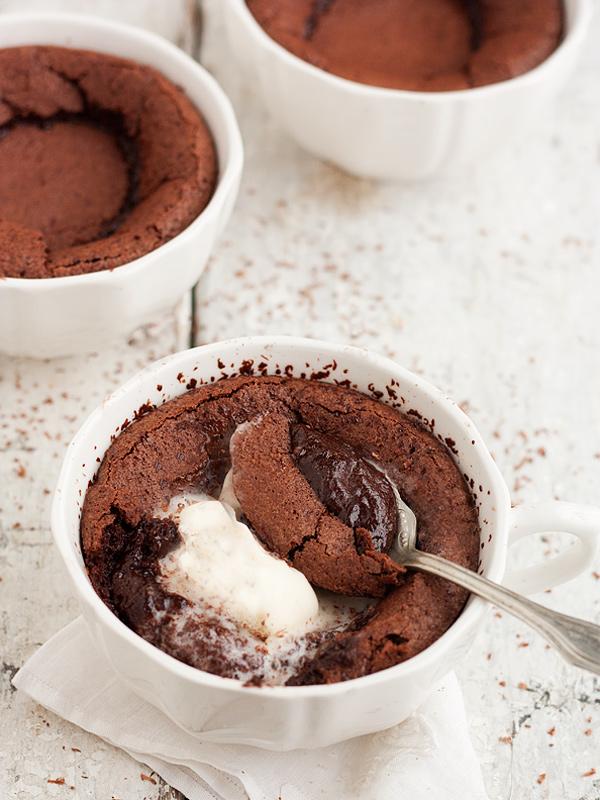 Hot Chocolate Pudding Cake