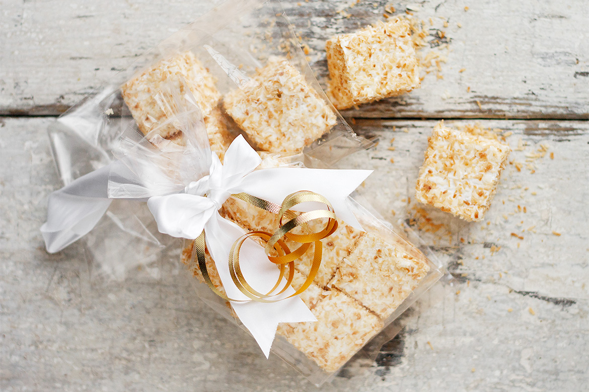 Easy Homemade Toasted Coconut Marshmallows