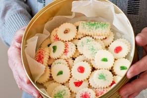 Dad's Christmas Shortbread Cookies