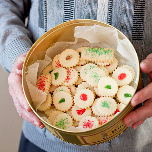 Shortbread Cookies Christmas.Dad S Christmas Shortbread Cookies Seasons And Suppers