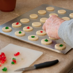 Dad's Christmas Shortbread Cookies