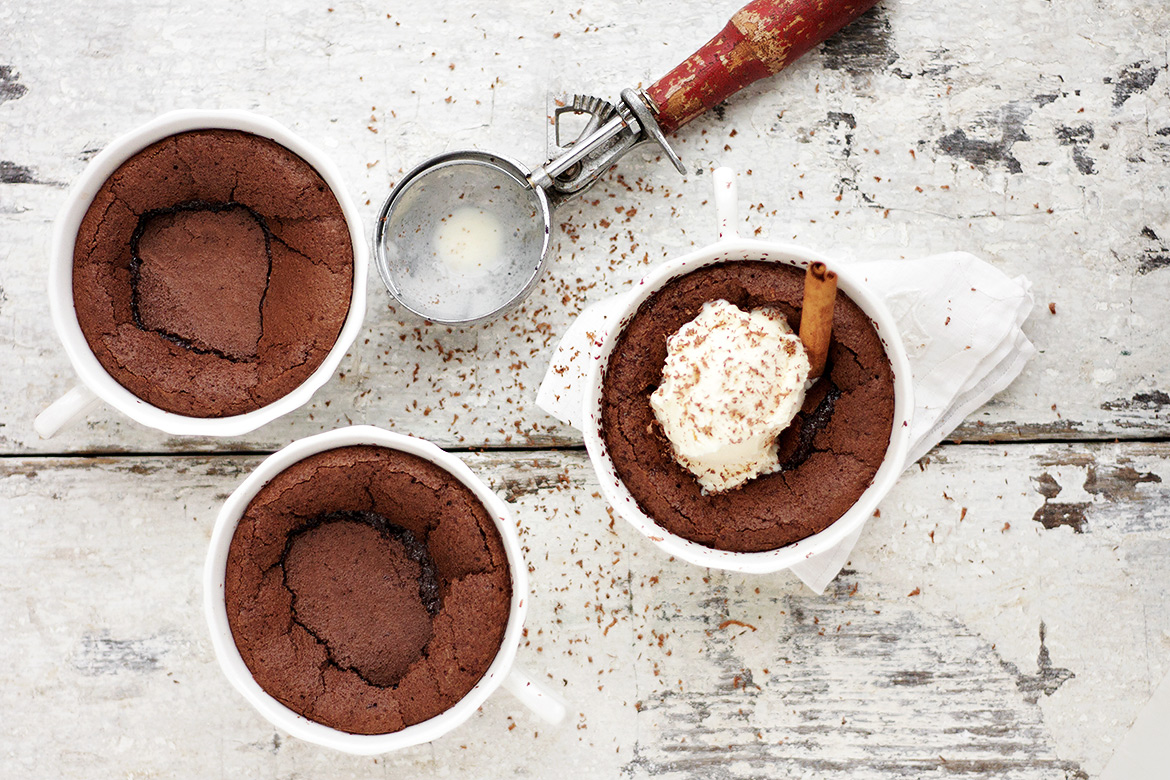 Hot Chocolate Pudding Cakes