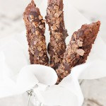 Double Chocolate Toffee Biscotti