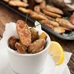 Roasted Parmesan Fingerlings