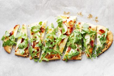 Cheddar, Pancetta, Apple Flatbread