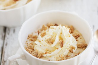 Ricotta Lattes: Not a drink. A perfect summer dessert!
