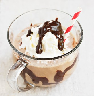 Burnt Toffee Chocolate Frappuccino