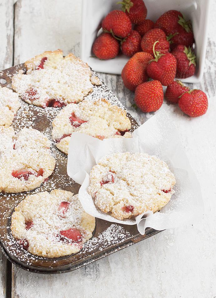 Strawberry Shortcake Muffins