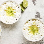 Individual Frozen Key Lime Pie