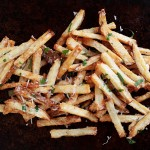 Garlic Aioli and Parmesan Fries