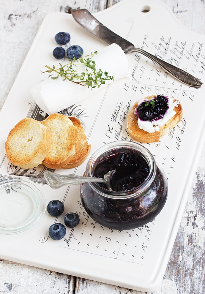 Blueberries with a Bite (Pickled Blueberries)